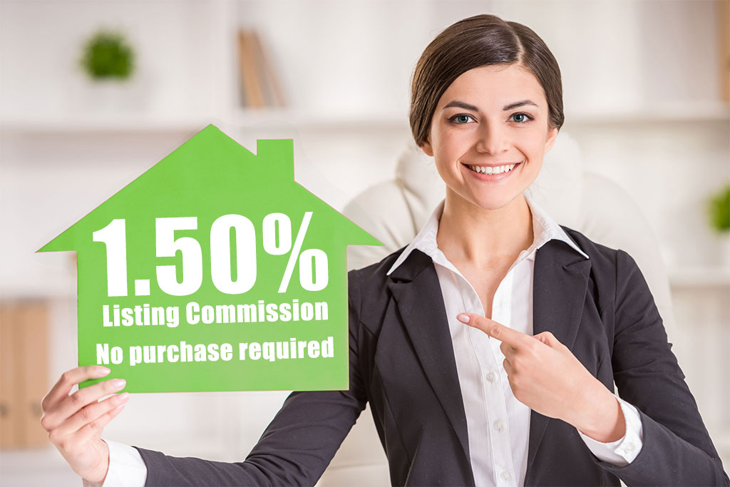 1.5% Discount Sarasota real estate commission plan