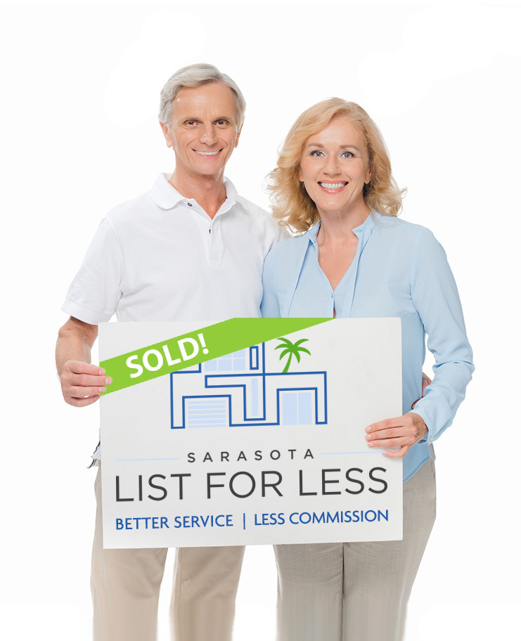 Sarasota List For Less Sign